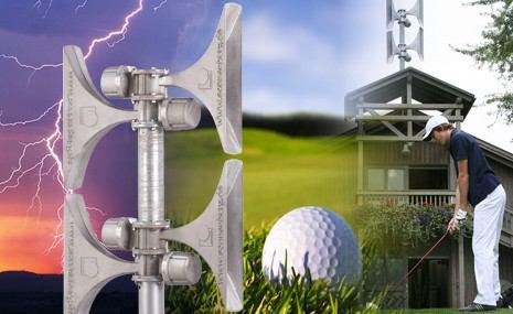 Sirenenalarmierung für Golfclubs